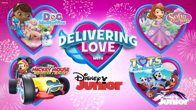 Delivering Love With Disney Junior