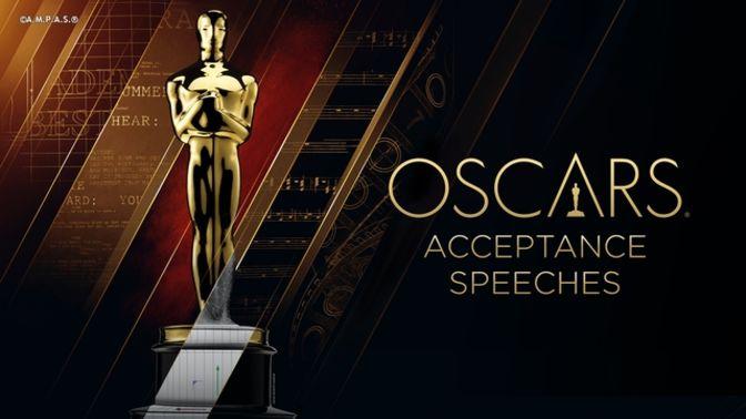 Acceptance Speeches