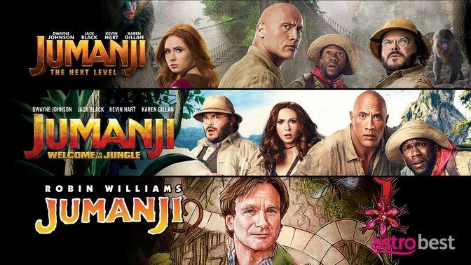 Jumanji 3-Movie Collection