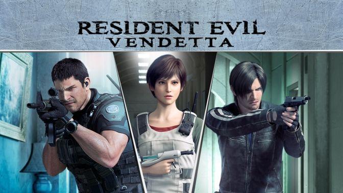 resident evil vendetta chris and rebecca