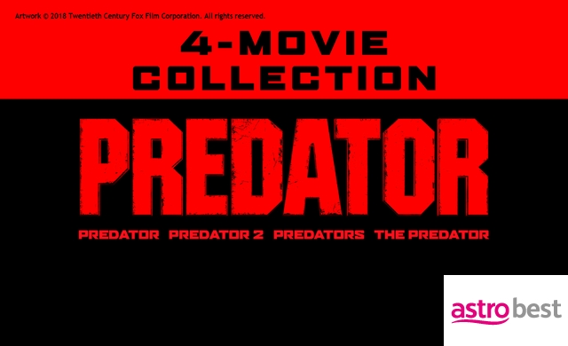 THE PREDATOR 4-MOVIE COLLECTION
