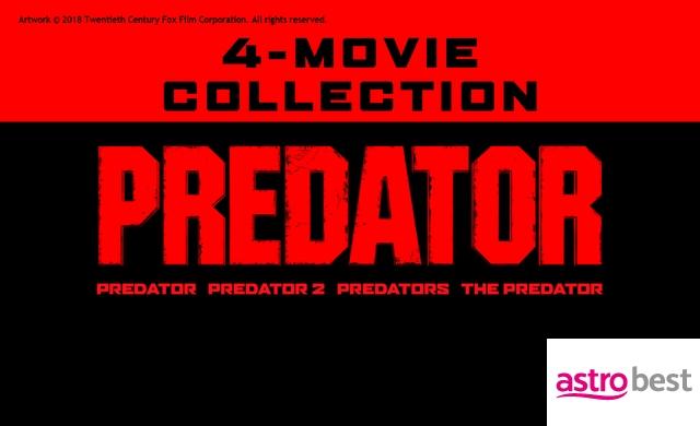 THE PREDATOR 4-MOVIE COLLECTION
