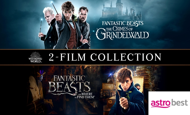 FANTASTIC BEASTS 2-MOVIE COLLECTION