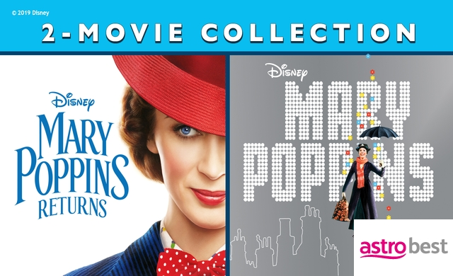 MARY POPPINS 2-MOVIE COLLECTION