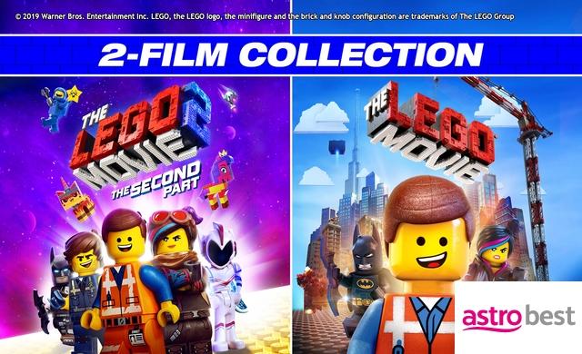 LEGO 2-FILM BUNDLE