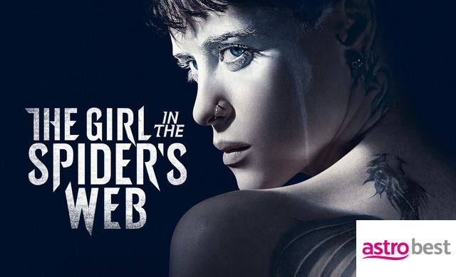 THE GIRL IN THE SPIDER'S WEB: A NEW…