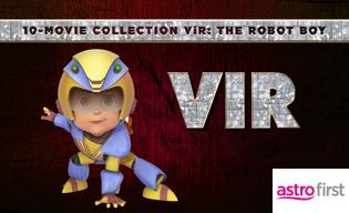 VIR THE ROBOT BOY 10-MOVIE COLLECTION