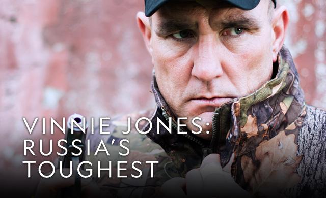 VINNIE JONES: RUSSIA'S TOUGHTEST