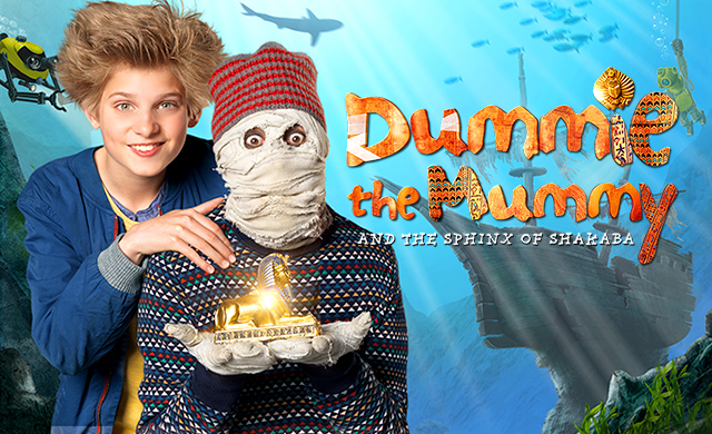 DUMMIE THE MUMMY AND THE SPHINX OF SHAKA