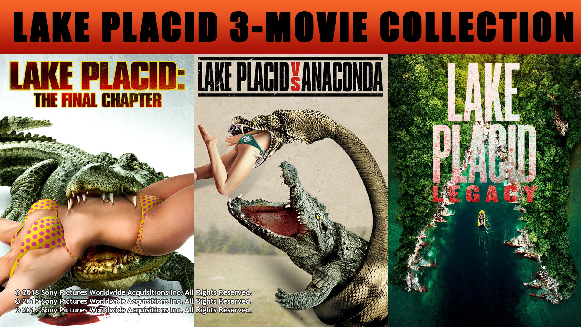 LAKE PLACID: 3-MOVIE COLLECTION