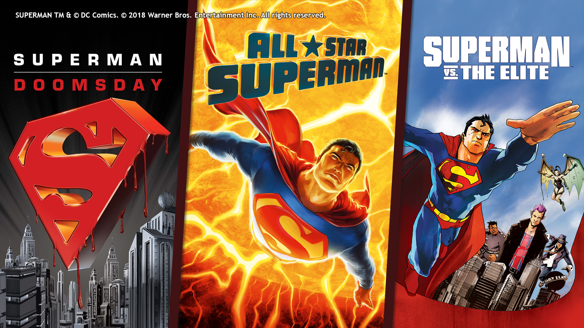 DCU: SUPERMAN TRIPLE FEATURE
