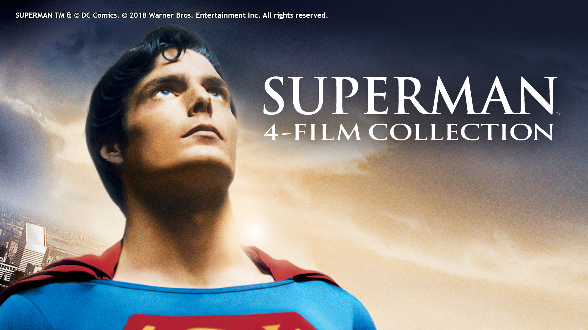 SUPERMAN 4 MOVIE COLLECTION