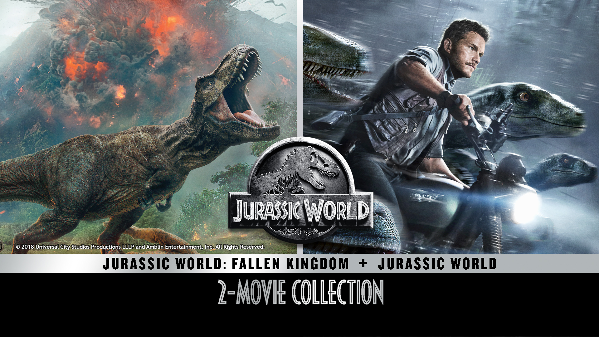 JURASSIC WORLD 2 MOVIE COLLECTION
