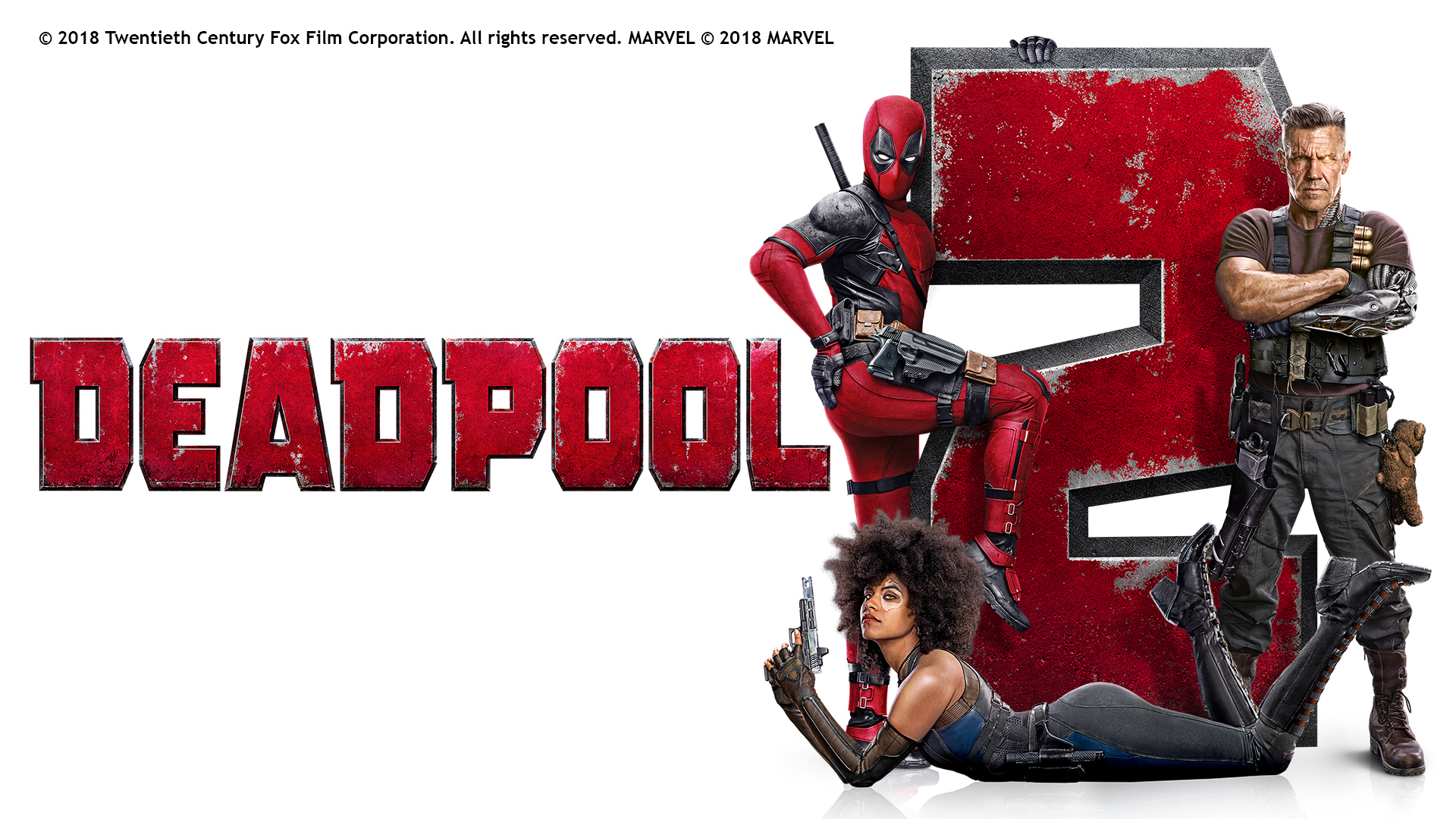 DEADPOOL 2 BOXSET