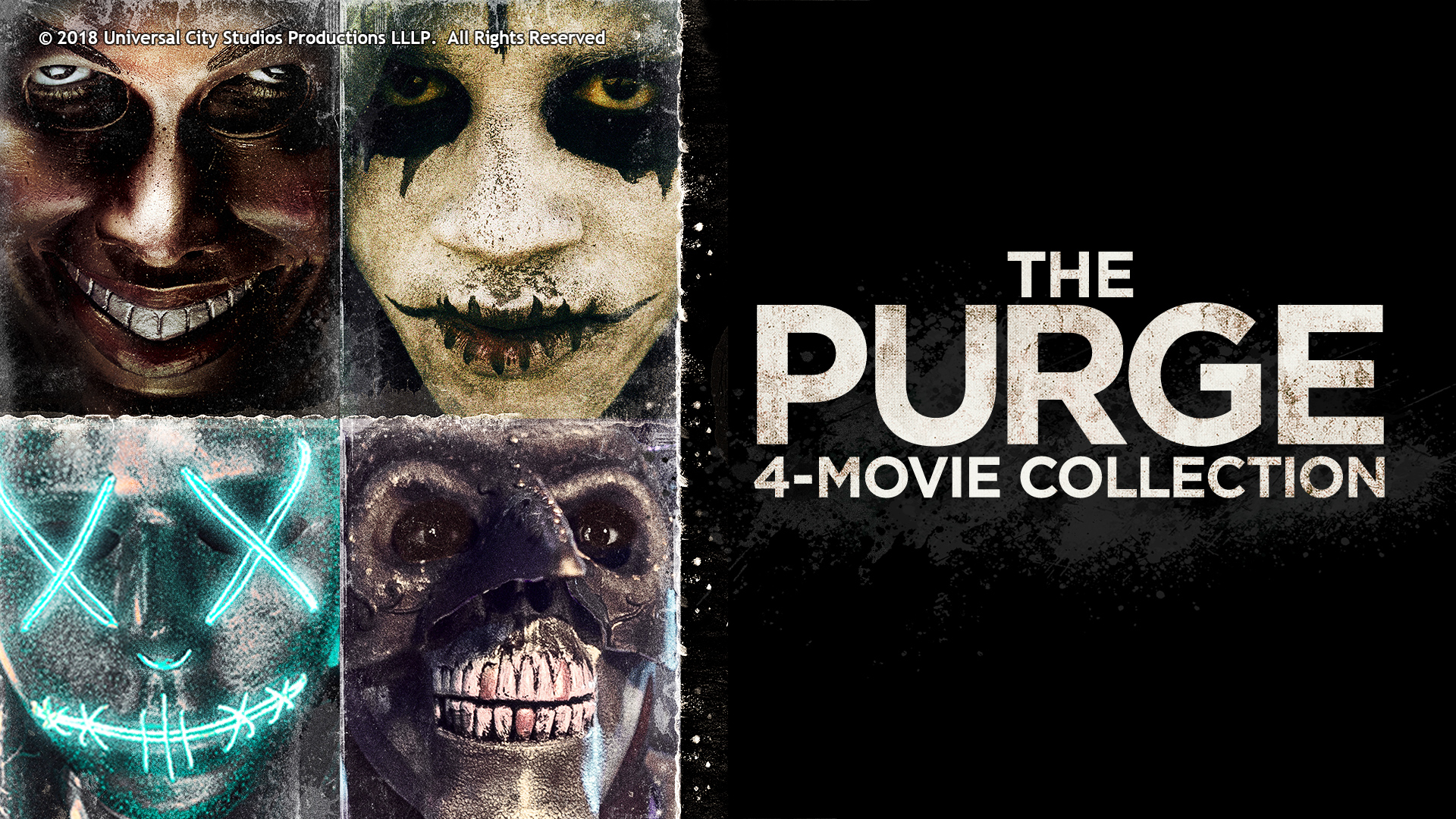 THE PURGE 4-MOVIE COLLECTION