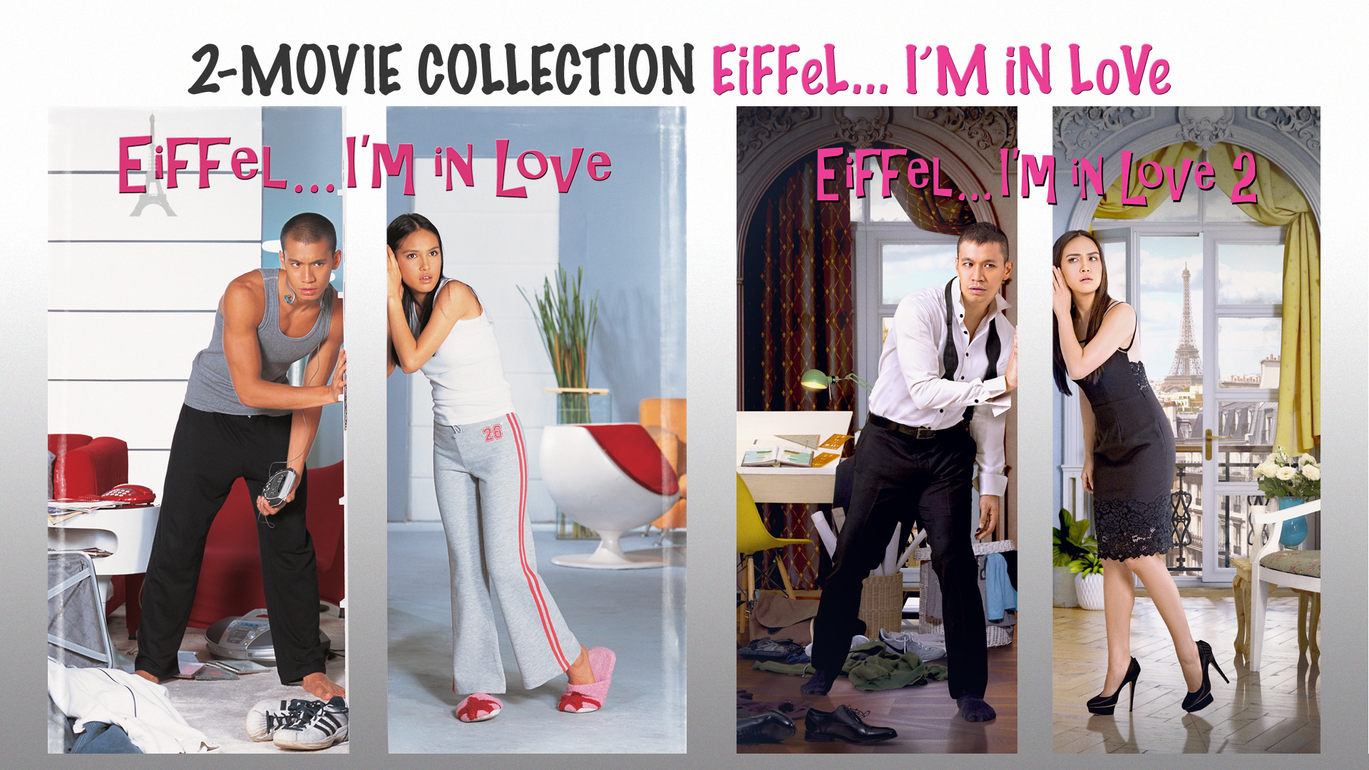 2-MOVIE COLLECTION EIFFEL I'M IN LOVE