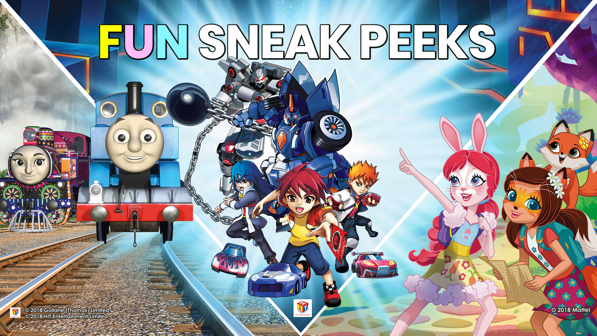 MATTEL FUN SNEAK PEEK
