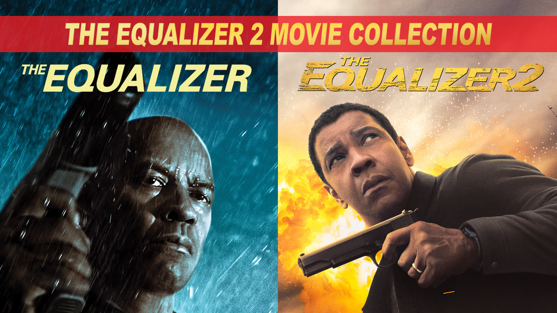 THE EQUALIZER 2-MOVIE COLLECTION