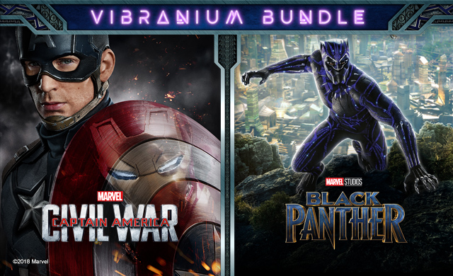 BLACK PANTHER - VIBRANIUM BUNDLE