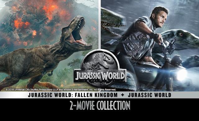 JURASSIC WORLD 2 MOVIE COLLECTION