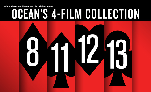 OCEAN'S 4-MOVIE COLLECTION