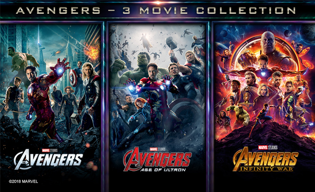 AVENGERS - 3 MOVIE COLLECTION