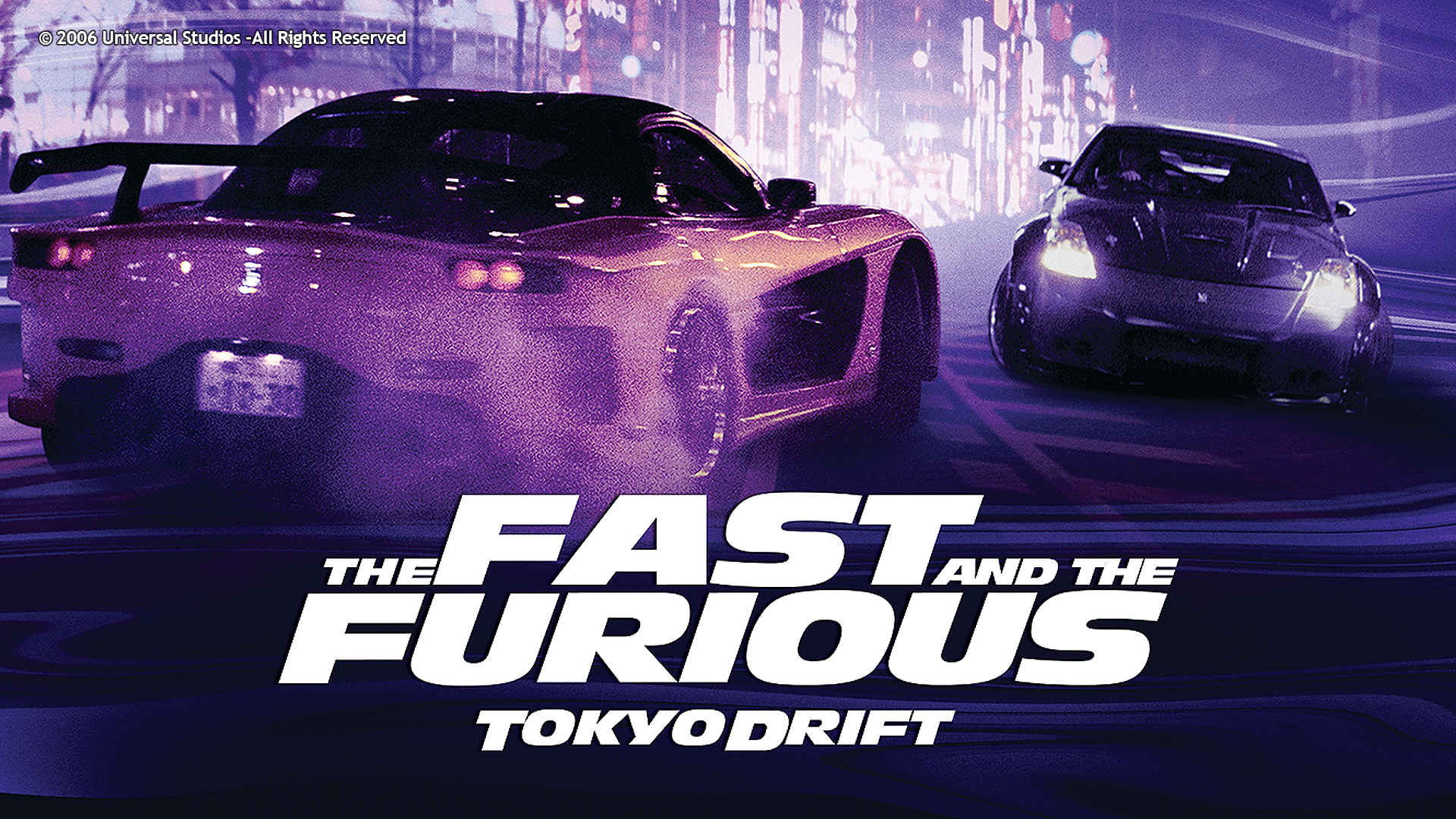 THE FAST&THE FURIOUS: TOKYO DRIFT (2006)
