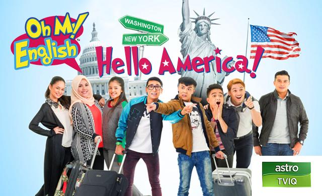 OH MY ENGLISH! HELLO AMERICA