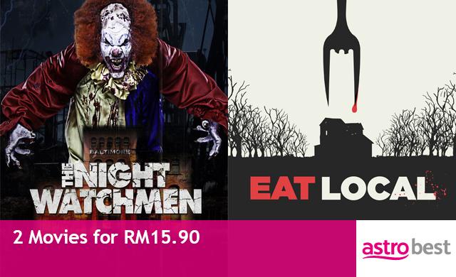 THE NIGHT WATCHMEN & EAT LOCALS