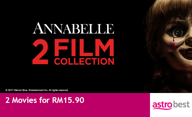 ANNABELLE 2-MOVIE COLLECTION