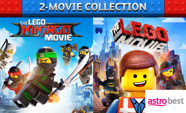 THE LEGO NINJAGO MOVIE & THE LEGO MOVIE