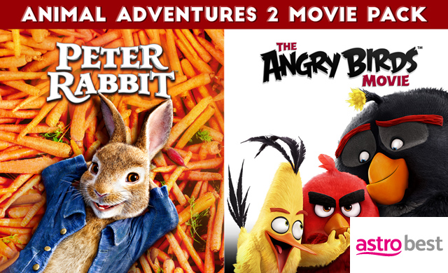 ANIMAL ADVENTURES 2 MOVIE PACK