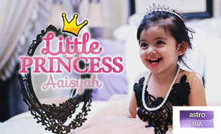 LITTLE PRINCESS AAISYAH