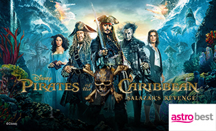 PIRATES OF THE CARIBBEAN: SALAZAR'S…