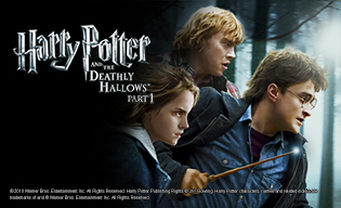 HARRY POTTER & THE DEATHLY HALLOWS PT 1
