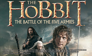 THE HOBBIT:THE BATTLE OF THE FIVE ARMIES