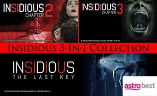 INSIDIOUS 3 IN 1 COLLECTION