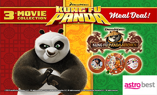 KUNG FU PANDA MOVIES + MEAL DEAL