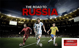 FIFA WC 2018 ROAD TO RUSSIA