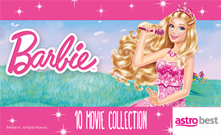 BARBIE 10-MOVIE COLLECTION