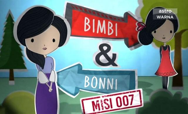 Skrin Komedia: Bimbi & Bonni Misi 007 Ep03