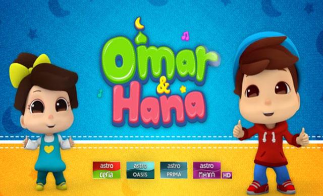 Omar & Hana - Sayang Allah dan Nabi Ep10