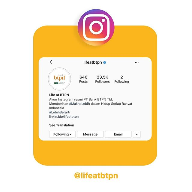 @lifeatbtpn Instagram Analytics