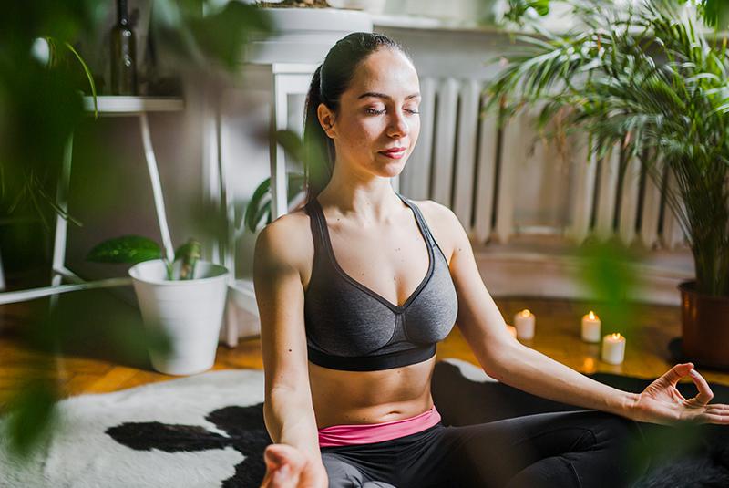 Thiền định giúp tư duy tích cực