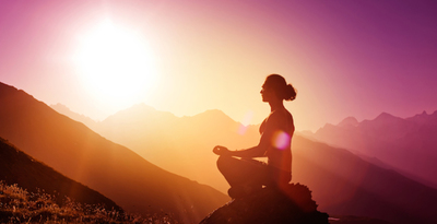 Thumb mind and body meditation