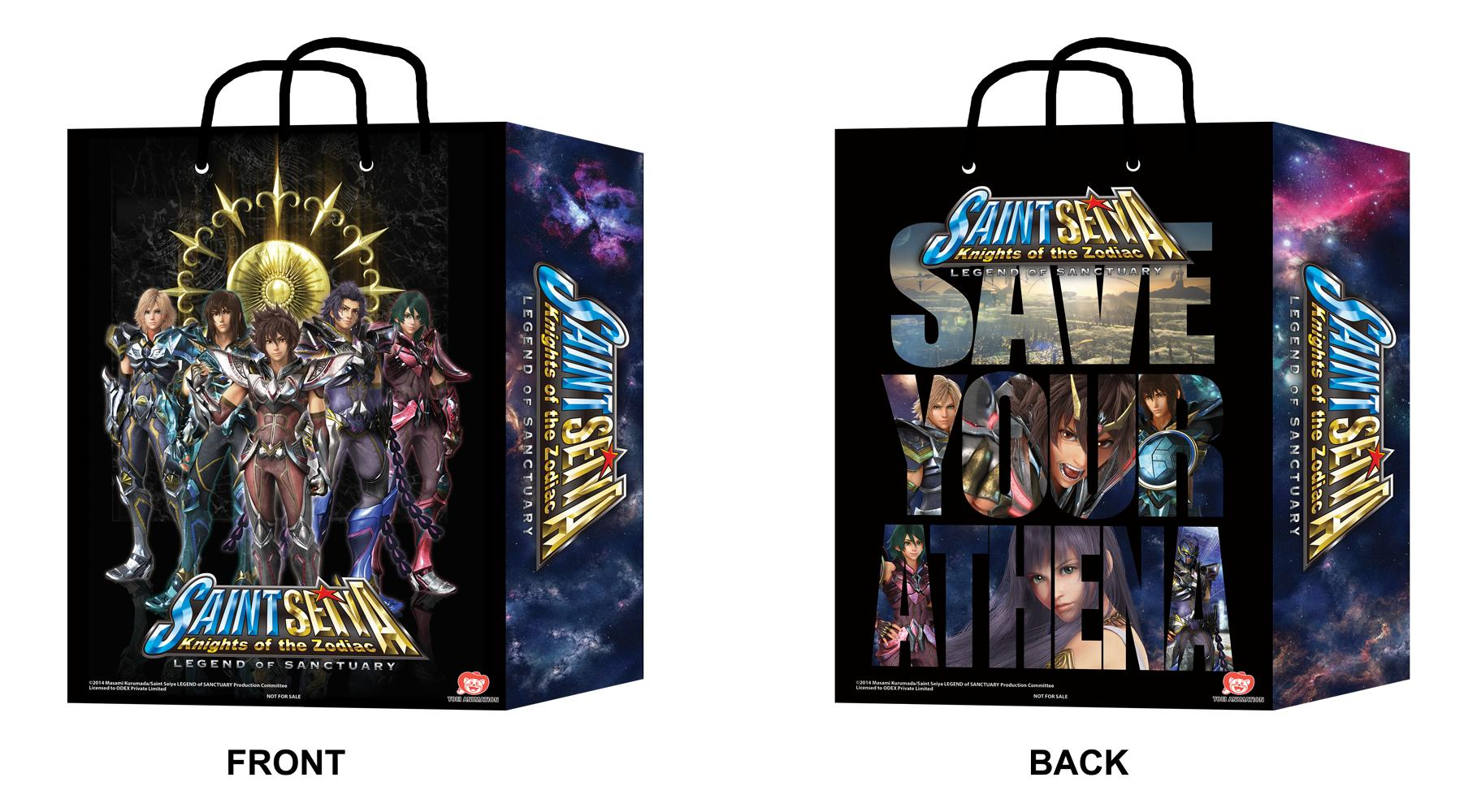 SAINT SEIYA : LEGEND OF SANCTUARY Opening In SG on 09 Oct