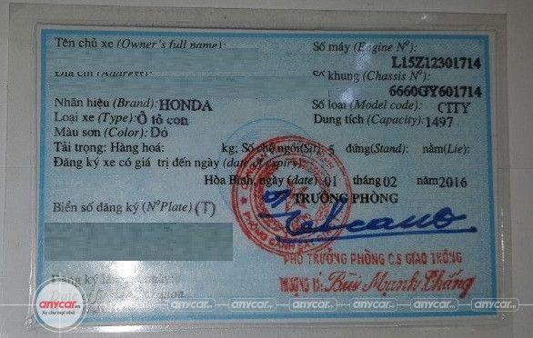 Honda City 1.5AT 2016 - 22
