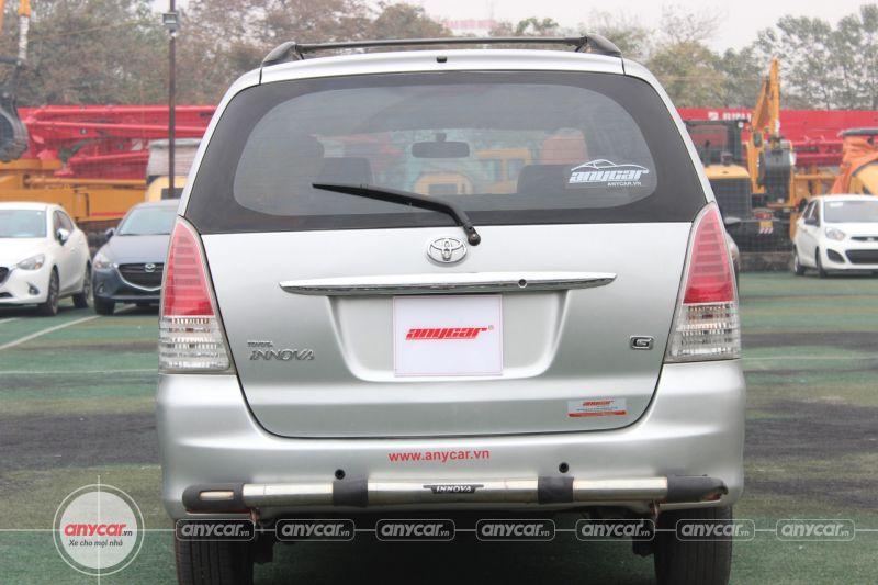 Toyota Innova G 2.0MT 2009 - 5