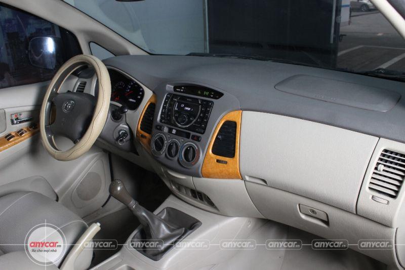 Toyota Innova G 2.0MT 2009 - 8