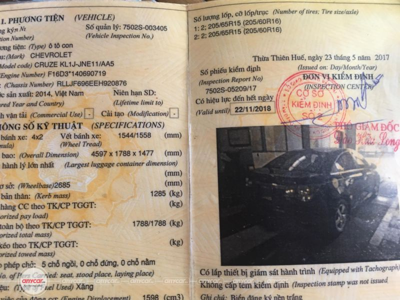 Chevrolet Cruze MT 2014 - 19
